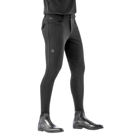 Ego7 Herren Reithose  EJ Jumping Breeches Kniegrip Black