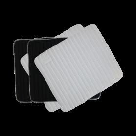 Kentucky Bandagenunterlagen Absorb groß 45x40 Schwarz-Weiß