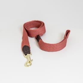 Kentucky Horsewear Hundeleine Jacquard Terrakotta