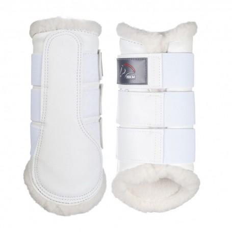 HKM Gamaschen Comfort Weiß