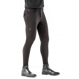 Ego7 Herren Reithose EJ Jumping Breeches Kniegrip Chocolate