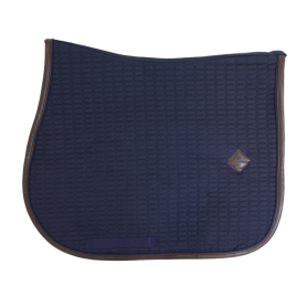 Kentucky Horsewear Schabracke Color Edition Leather Navy