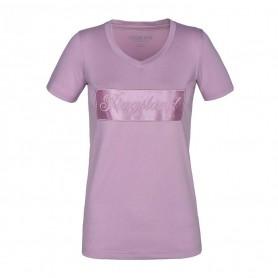 Kingsland Kurzarm Shirt mit V-Ausschnitt KLluna Lilac Keepsake