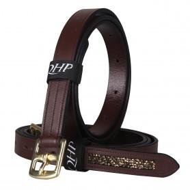 QHP Steigbügelriemen Lupine Braun