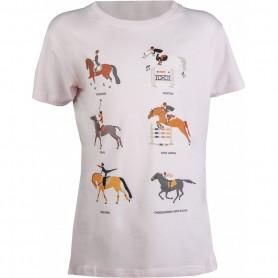 HKM Kinder-T-Shirt -Equestrian Disciplines-