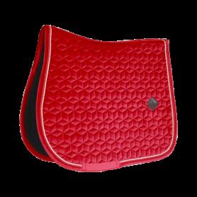 Kentucky Horsewear Schabracke Velvet Rot