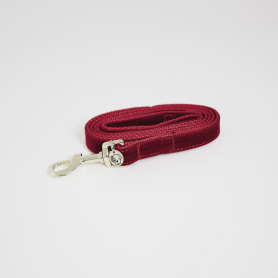 Kentucky Hundeleine Corduroy 120 cm - Rot