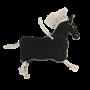 Kentucky Horsewear Relax Horse Toy Pony - Schwarz