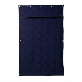 "Kentucky Boxenvorhang ""Stable Curtain"" Navy"