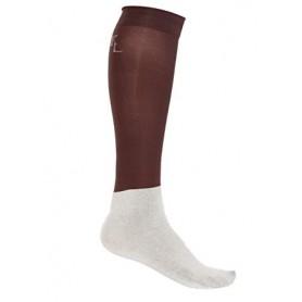 Kingsland Show Socks Classic 3er-Pack Braun