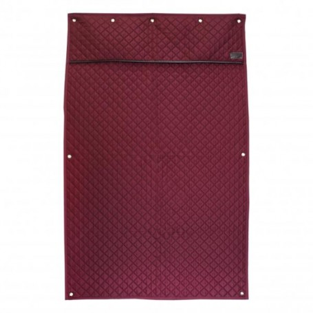 "Kentucky Boxenvorhang ""Stable Curtain"" Bordeaux"