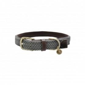 Kentucky Horsewear Hundehalsband Plaited Grau