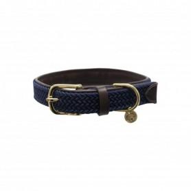 Kentucky Horsewear Hundehalsband Geflochten Navy