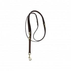 Kentucky Horsewear Hundeleine Velvet Leather