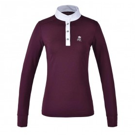 "Kingsland Turniershirt ""KLtimmins"" für Damen Bordeaux"