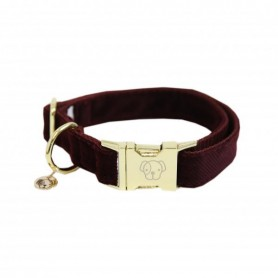 Kentucky Horsewear Hundehalsband Corduroy Bordeaux