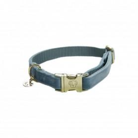 Kentucky Horsewear Hundehalsband Velvet Hellblau