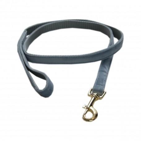 Kentucky Horsewear Hundeleine Velvet Hellblau