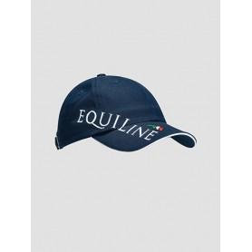 Equiline Unisex Cap Logo Blau
