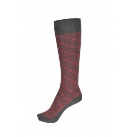 Pikeur Reitsocken All Over FS20 Rouge