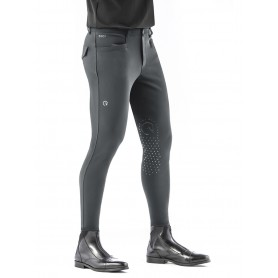 Ego7 Herren Reithose  EJ Jumping Breeches Kniegrip Grey