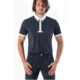 Ego7 Turniershirt Polo Kurzarm Navy