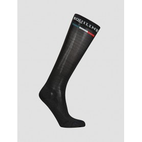 Equiline Reitsocken Silver Plus Light Schwarz