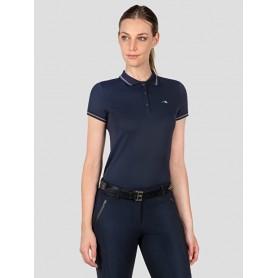 Equiline Damen Poloshirt Trikolore