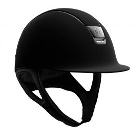 Samshield Helm Shadowmatt Schwarz mit 5 Swarovskisteinen