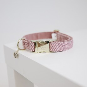 Kenucky Horsewear Hundehalsband Wool Rosa