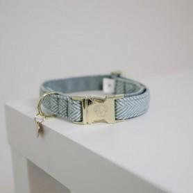 Kenucky Horsewear Hundehalsband Wool Hellblau