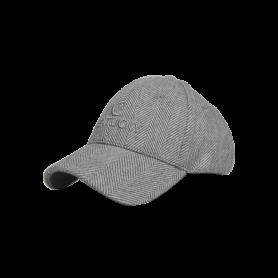 Kentucky Horsewear Baseball Cap Wool Grau