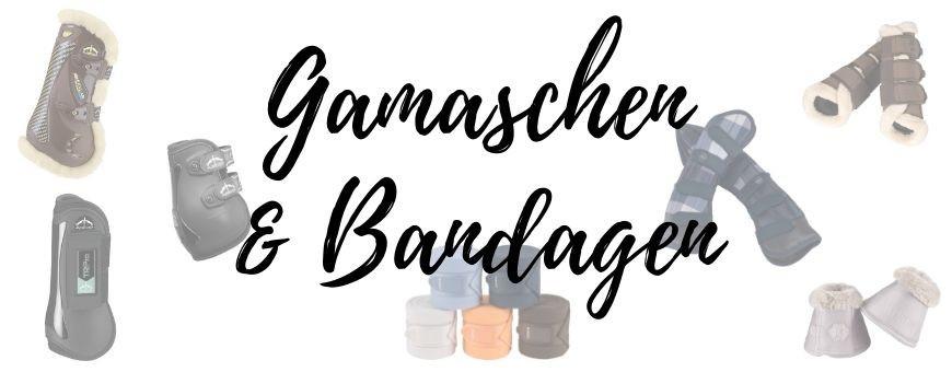 Gamaschen und Bandagen