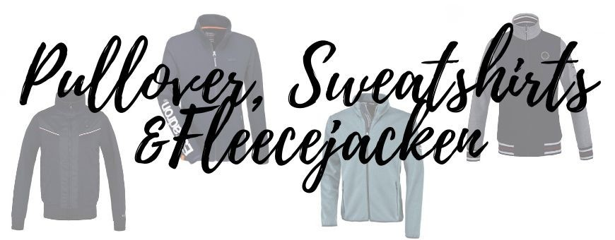 Pullover, Sweatshirts & Fleecejacken